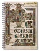 Book Of Lindisfarne Spiral Notebook