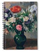Bouquet Of Flowers, 1898 Spiral Notebook