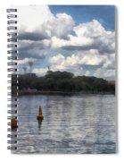 Buoys In The River Spiral Notebook