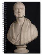 Bust Portrait Of Wynn Ellis Mp  Spiral Notebook