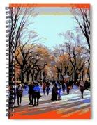Central Park Mall Spiral Notebook