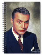 Charles Boyer, Vintage French Actor Spiral Notebook