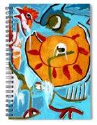 Chicken Spiral Notebook