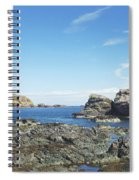 cliffs and coast at St. Abbs, Berwickshire Spiral Notebook