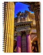 Columns Of The Palace Of Fine Arts Spiral Notebook