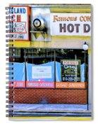 Coney Island Lunch Spiral Notebook