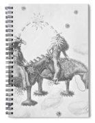 Cosmic Cowboys Spiral Notebook
