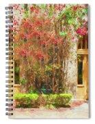 Courtyard Doors St Augustine 002 Spiral Notebook