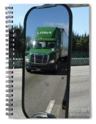 Green Freightliner Publix Spiral Notebook