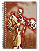 Dennis Wilson Spiral Notebook