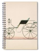 Design For Driving Or Road Phaeton Unnumbered Spiral Notebook