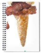 Dessert Ice Cream I    Spiral Notebook