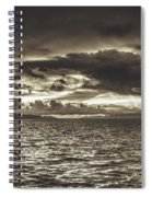 Dreamy Tahitian Sunset Spiral Notebook