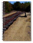 Ellsworth Tracks  Spiral Notebook