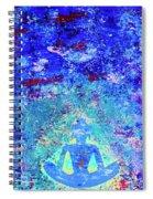 Enlightenment Blue Spiral Notebook