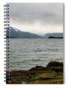 Ensenada Bay, Tierra Del Fuego National Park, Ushuaia, Argentina Spiral Notebook