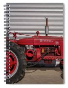 Farmall M And Steel Spiral Notebook