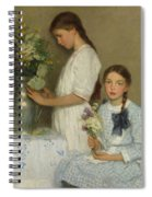 Flowers Of The Field  Spiral Notebook