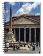 Fontana Del Pantheon Spiral Notebook