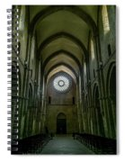 Fossanova Spiral Notebook