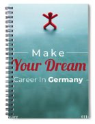 Free Study Abroad Consultant Spiral Notebook