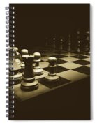 Game Of Kings Spiral Notebook