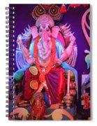 Ganesha3 Spiral Notebook