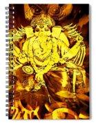 Ganesha4 Spiral Notebook