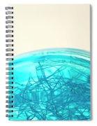 Glass Bowl, Close Up Spiral Notebook