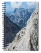 Grey Mountains Spiral Notebook