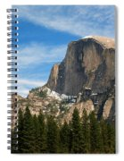 Half Dome, Yosemite National Park Spiral Notebook