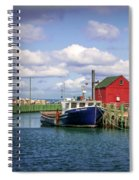 Hall's Harbour 01 Spiral Notebook