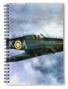 Hawker Hurricane, Wwii Spiral Notebook