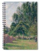 Haystacks, Morning, Eragny, 1899 Spiral Notebook