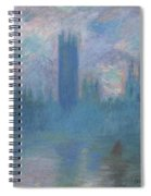 Houses Of Parliament, London Spiral Notebook