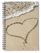 I Love The Beach Spiral Notebook