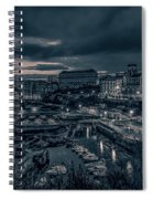 In The Silent Harbour Spiral Notebook