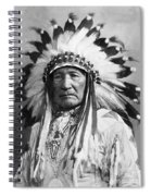 Indian Chief Spiral Notebook