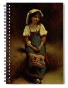 Italian Woman Spiral Notebook