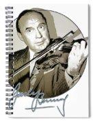 Jack Benny Spiral Notebook