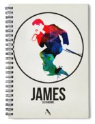 James Brown Spiral Notebook