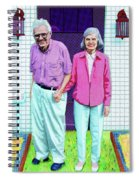 Jane And Sherwood Spiral Notebook