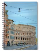 Just Down The Block    Spiral Notebook