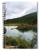 Laguna Verde, Tierra Del Fuego National Park, Ushuaia, Argentina Spiral Notebook