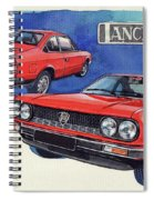 Lancia Beta 1300 Spiral Notebook