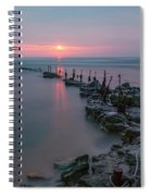 Longhoughton Beach - England Spiral Notebook