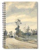 Louveciennes  Route De Saint   Germain  Spiral Notebook