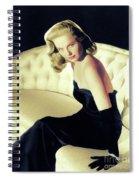 Martha Hyer, Vintage Actress Spiral Notebook