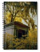 Mausoleum In Georgia Spiral Notebook