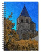 Medieval Bell Tower 6 Spiral Notebook